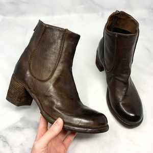 NEW Officine Creative Leather Chelsea Ankle Boots